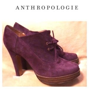 Luiza Barcelos Purple Booties